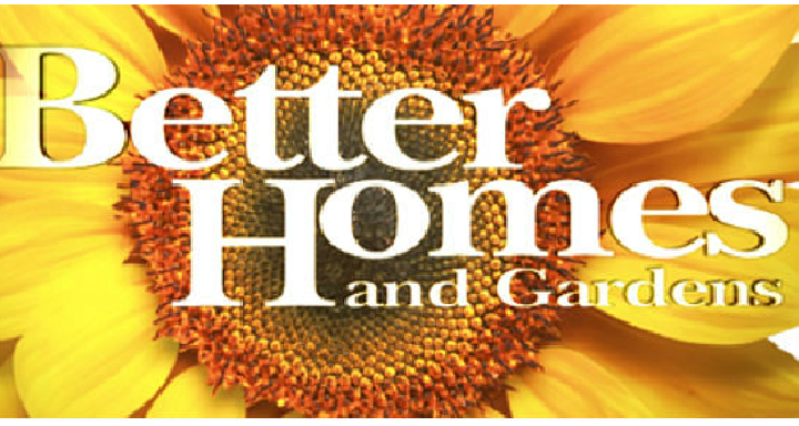 Free Better Homes And Gardens Subscription Giveaway Joe