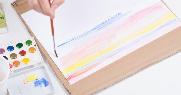 Acrylic paint paper giveaway joe for How to paint on paper with acrylic paints