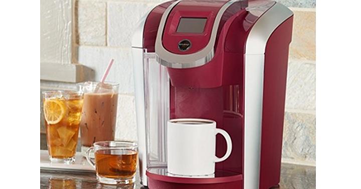 Keurig Coffee Maker Giveaway : Keurig Coffee Maker - Giveaway Joe