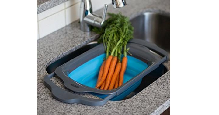 Collapsible Kitchen Colander Giveaway Joe