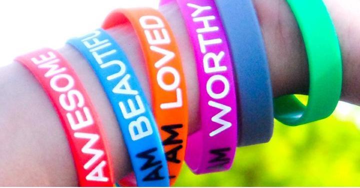 Inspirational Silicone Wristbands Giveaway Joe
