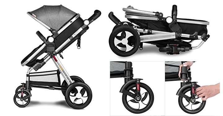 besrey 2 in 1 convertible stroller giveaway joe. Black Bedroom Furniture Sets. Home Design Ideas