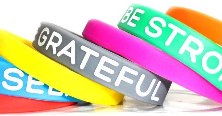 Inspirational Silicone Bracelets Giveaway Joe