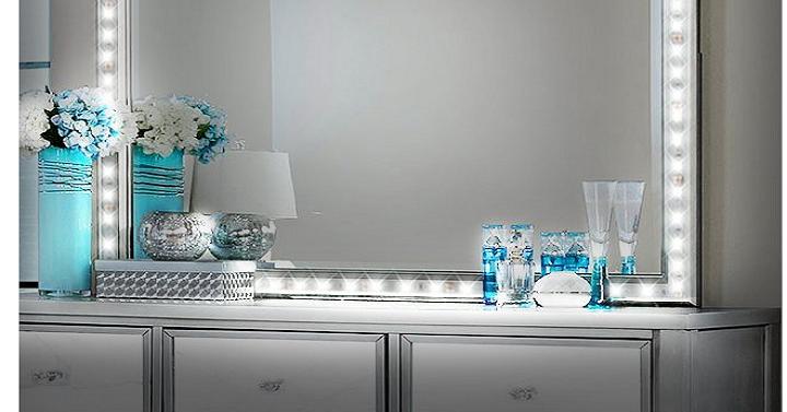 vanity mirror light strip giveaway joe. Black Bedroom Furniture Sets. Home Design Ideas